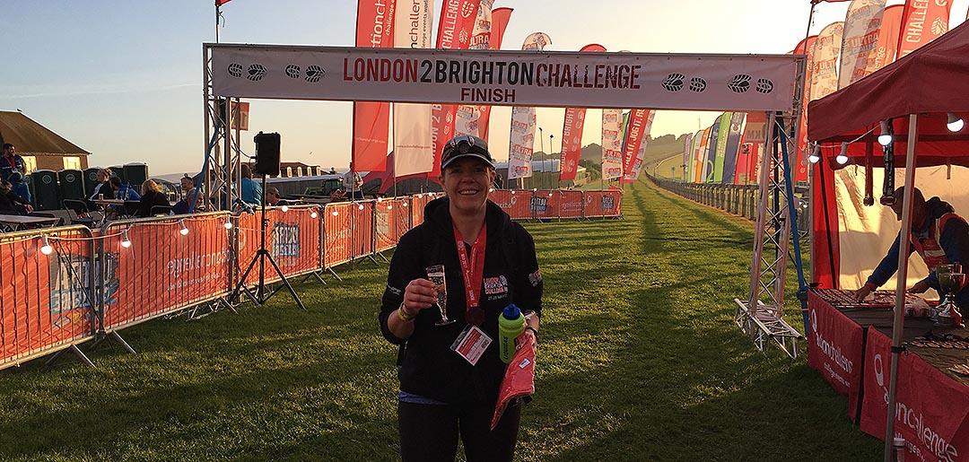 Georgina walks 60 miles for Alzheimer's Society
