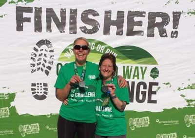 Cotswold Challenge - on the finishers podium