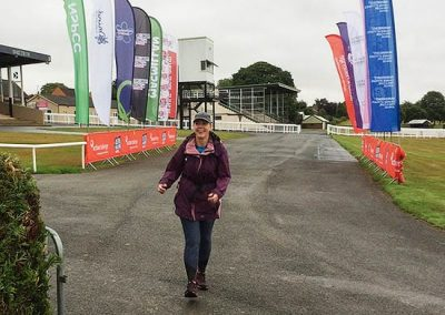 Wye Valley Challenge - on the finishing straight
