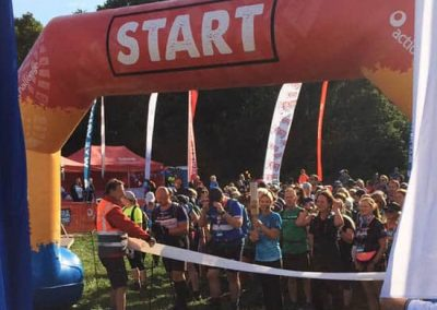 Wye Valley Challenge start line