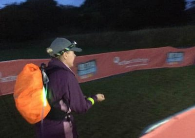 Wye Valley Challenge - starting night walk