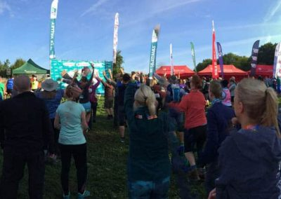 Wye Valley Challenge - warm up routine